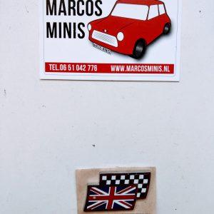 Badge Union Flag Classic-MINI