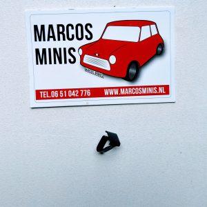 Clip tbv kofferdeksel rubber MK1-2-3 nodig 26 stuks Classic-MINI