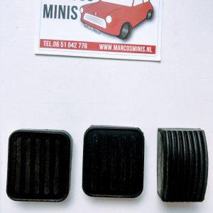 Pedaalrubbers tot 1976 Classic-MINI