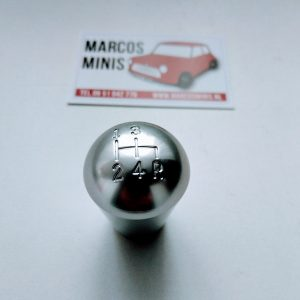 Pookknop gepolijst mk1 Style Classic-MINI