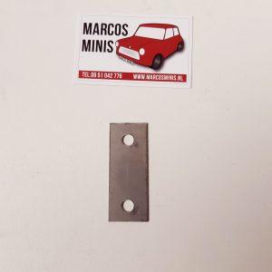 Shim tbv deurscharnier 0.7mm Classic-MINI