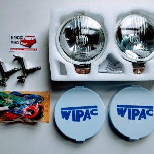 WIPAC verstralers of mistlampen met bevestigingsbeugels en universele aansluitset CLASSIC - MINI